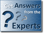 Button - Click to get answers to frequently asked questions